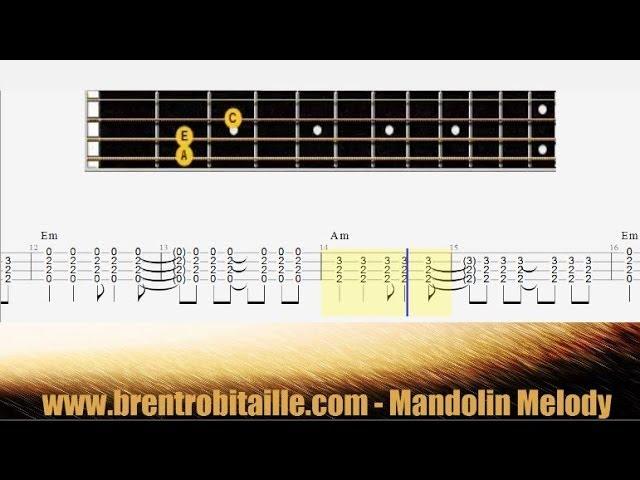 Mandolin playing mandolin chords : Mandolin Tab - Chords - Losing My Religion - Play Along - YouTube