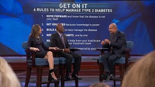 6 Rules To Help Manage Type 2 Diabetes(Dr. Phil partnered with AstraZeneca for the On It Movement to help educate people living with type 2 diabetes. Find out his six rules to help manage the disease., 2016-10-15T00:48:40.000Z)