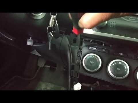 Разборка центральной консоли Mazda6 GH
