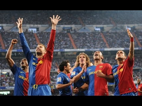 Real Madrid - FC Barcelona 2-6 {Highlights} 2-5-2009