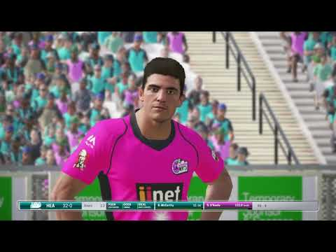 Ashes Cricket 2017 BBL-Brisbane Heat vs Sydney Sixers