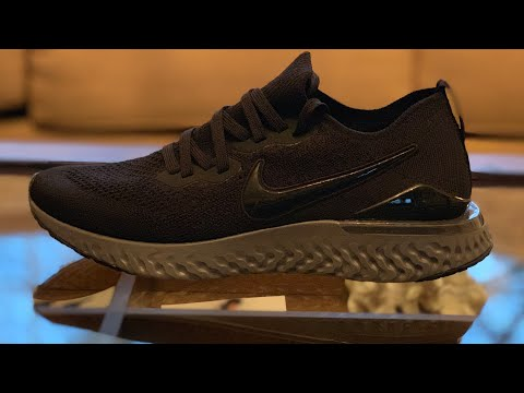 325e157ebae Unboxing the Nike Epic React Flyknit 2 Black Anthracite (Newly Released)