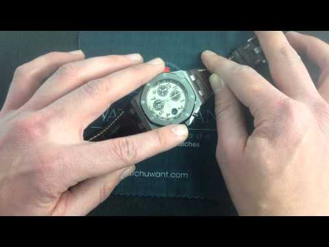 Audemars Piguet Royal Oak Offshore Safari II 26470ST Luxury Watch Review