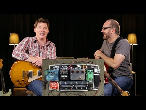 That Pedal Show – Four Classic Guitars, TS808, Klon & Rat. What do we like?