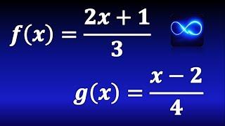 Composición de funciones (Método fácil) (Ejemplo 3)