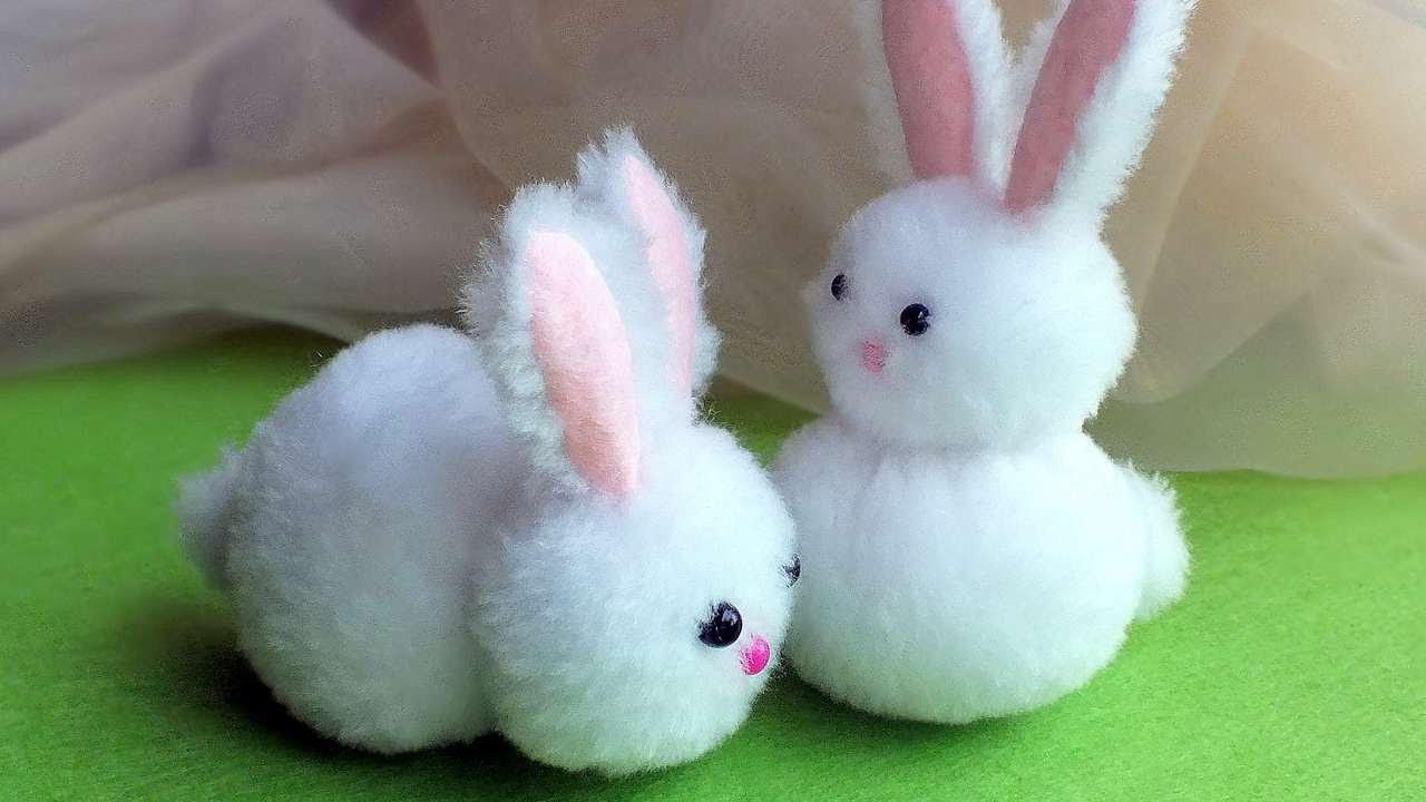 How To Sew A Cute Fur Bunny  DIY Crafts Tutorial