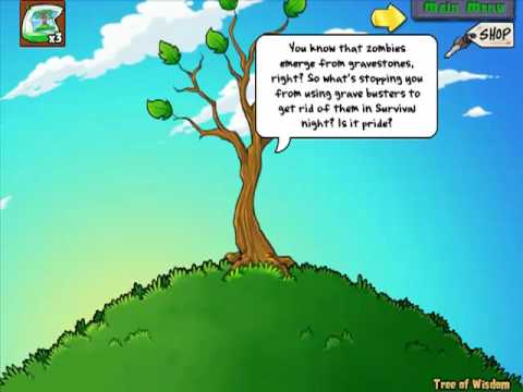 Plants vs. Zombie - The Growing of the Tree Of Wisdom