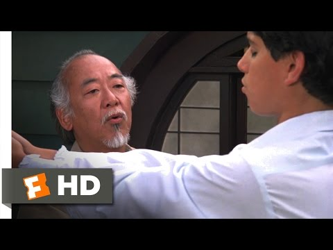 The Karate Kid Part II - Breathe In, Breathe Out Scene (2/10) | Movieclips