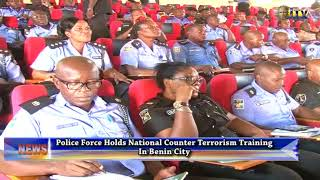 Police holds National Counter Terrorism Training