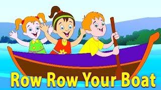 baris baris baris perahumu | pembibitan lagu | Row Your Boat | Kids Tv Channel Indonesia | Lagu Anak