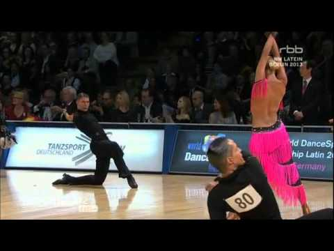World Championships 2013 Latin American Dancing Amateurs - Semifinale