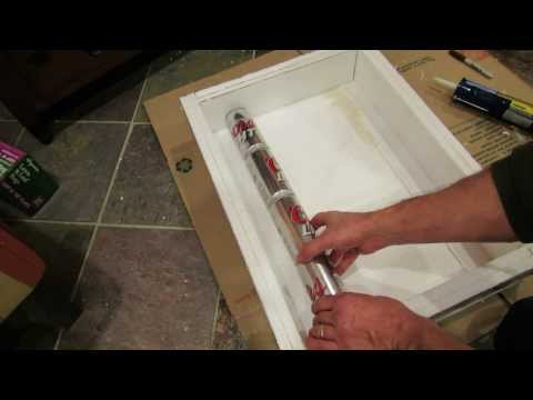 Complete Steps for Building A Solar Thermal Soda/Beer Can Heater for A Greenhouse - MFG 2013