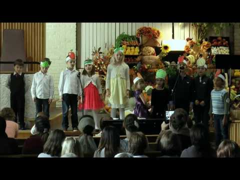 Russian Thanksgiving Harvest Service