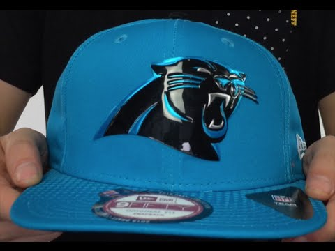 Panthers  2015 NFL DRAFT SNAPBACK  Blue Hat by New Era - YouTube b1fe222f0f9