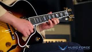 [MusicForce] Gibson Custom Archtop Byrdland Demo -