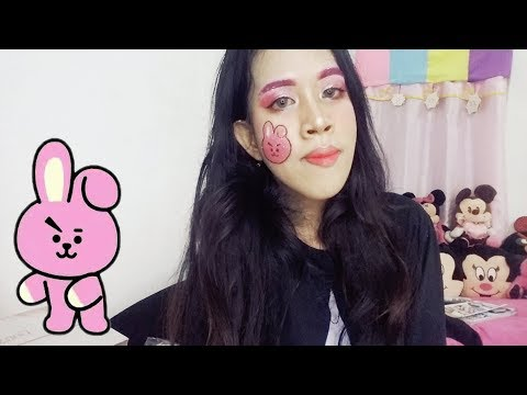 Cooky BT21 Makeup