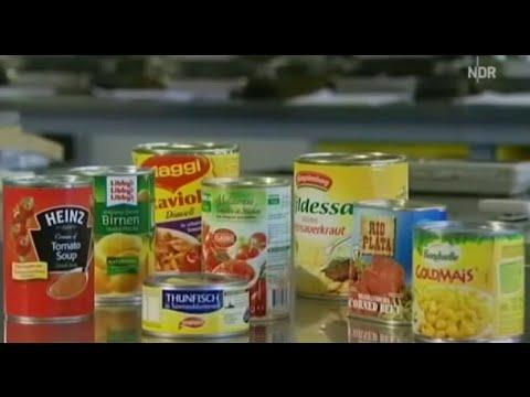 Bisphenol A - Gift aus der Dose