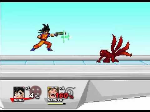 Goku vs Naruto - SSF2 The FInal Conclusion 2015