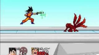 Goku vs Naruto - SSF2 The FInal Conclusion 2017