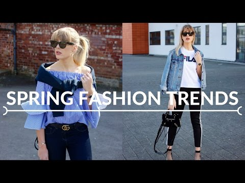 SPRING FASHION TRENDS On The High Street Now | Topshop, H&M,