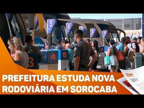 Prefeitura estuda nova rodoviária em Sorocaba - TV SOROCABA/SBT