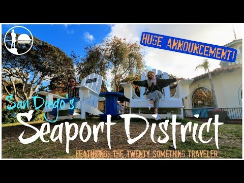 TOP THINGS TO DO IN SAN DIEGO | Seaport Village & The Headquarters Travel Guide