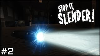 ROBLOX: STOP IT SLENDER! 2 - MASTER AT SURVIVING - Part 2 w/Voice Commentary (Random Let's Play)