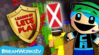 Chad Alan Plays Capture the Flag in Minecraft | LEAGUE OF LET'S PLAY
