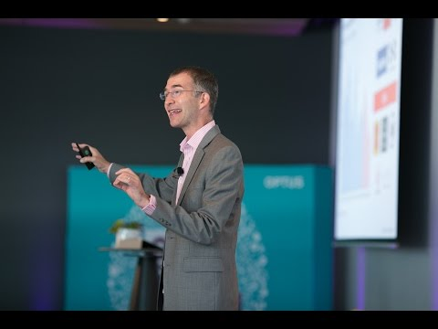 Optus Spark | Scott Anthony on  dual transformation - strengthen today, create tomorrow