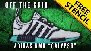 "Off The Grid: Adidas NMD ""Calypso"" + GIVEAWAY!! w/ Downloadable Stencil"