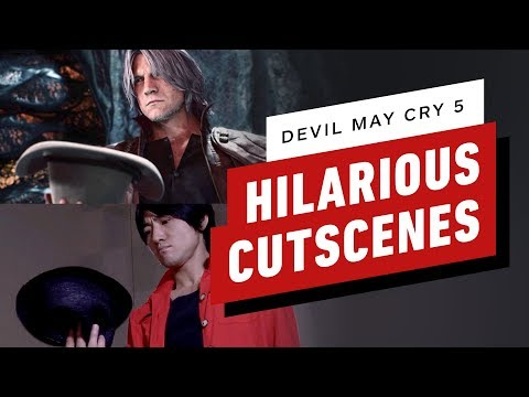 These Devil May Cry 5 Live-Action Cutscenes Are Absolutely Hilarious thumbnail