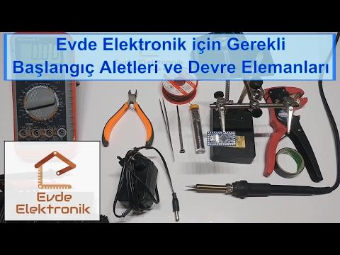 Evde Elektronik için Gerekli Başlangıç Aletleri ve Devre Elemanları #2