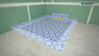 Geberit Shower board - Installation