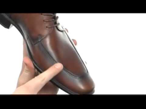 80cef096fb9 ECCO Cairo Apron Toe Tie SKU     8079699 - YouTube