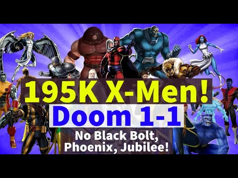 195K X-Men! Doom