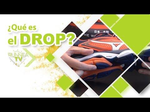 ¿Qué es el drop de una zapatilla? ? ? ¿Qué diferencia un drop alto de uno bajo? ?