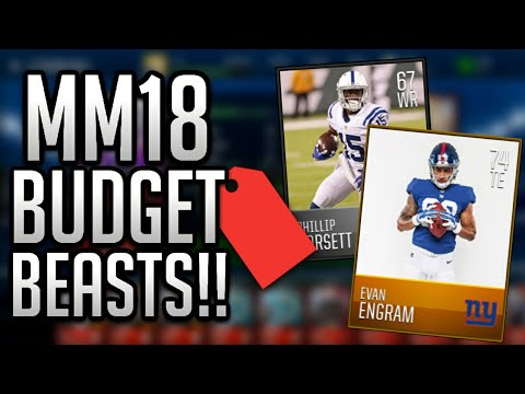 MADDEN MOBILE 18 BUDGET BEASTS!! OFFENSE EDITION