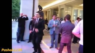 Путин, Медведев и Ельцин танцуют!!!!