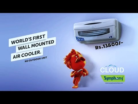 Symphony Cloud - Wall Mounted Air Cooler - Looks Like A/C