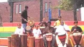 "Infinite Roots (Funga) featuring ""Life Skills"" Drum Students 08"""