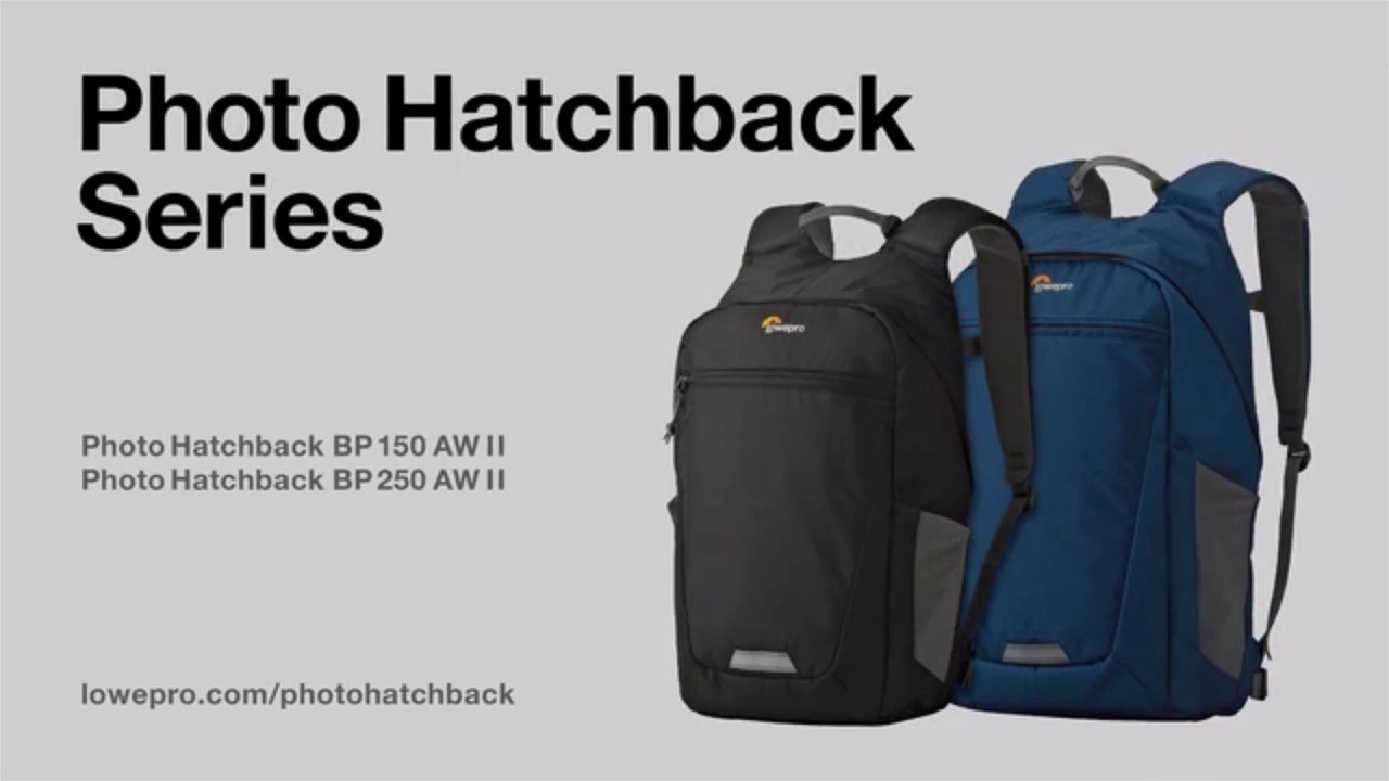 Lowepro Photo Hatchback Series Tu Mochila Personal Vyorsa Youtube 16l Aw Grey