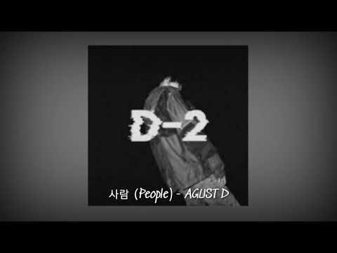 [1 HOUR LOOP] Agust D - People (사람)