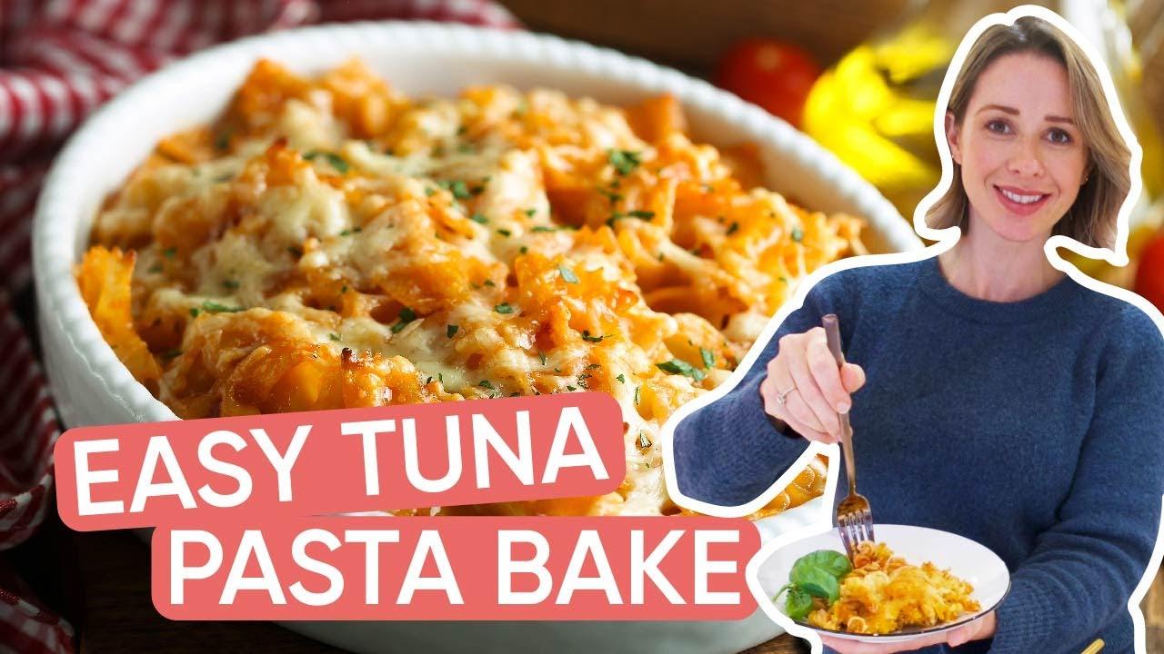 Easy Tuna Pasta Bake Recipe