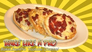 "English Muffin Pizzas Recipe - Another Of My ""time Cheater"" Meals"