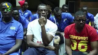 Dore uburyo Rayon Sports yakiriwe na Minisitiri Uwacu Julienne