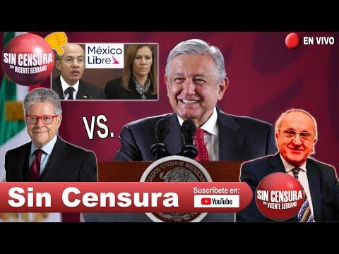 EN VIVO #SergioSarmiento vs #AMLO. Piden decir NO a #MexicoLibre.Investigan a #JesusSeade 14/10/2020