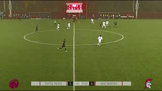 SPU MEN'S SOCCER: Trevor Lee goal (Nov. 9, 2019)