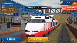 Indian Bullet Train Simulator - Train for Kids