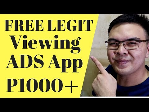 Legit App To View ADS - Free Load, Steam Wallet - Win 1000 To 10000 Pesos 2018