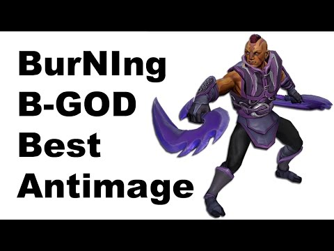 BurNIng Best Antimage B-GOD vs SECRET TI5 Dota 2